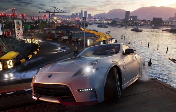 Картинка Nissan, game, Ubisoft, 370Z, The Crew 2