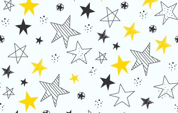 Картинка звезды, фон, текстура, background, pattern, stars