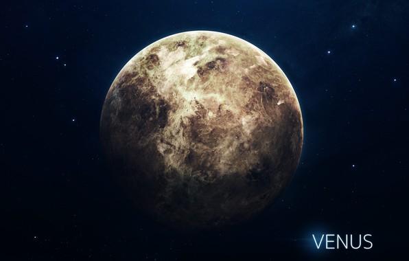 Картинка Звезды, Планета, Космос, Ягоды, Венера, Арт, Stars, Space, Art, Planet, Система, Venus, Berries, System, Солнечная ...
