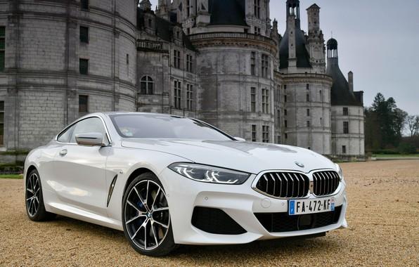 Картинка BMW, 2018, xDrive, M Sport, 8-Series, 840d, BMW 840d xDrive M Sport 2018