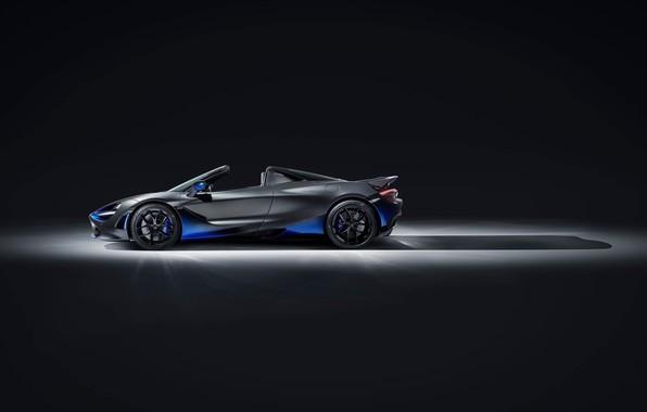 Картинка машина, McLaren, спорткар, диски, Spider, MSO, 720S