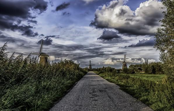 Картинка Nederland, Zuid-Holland, Kinderdijk