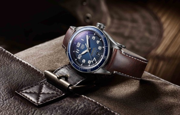 Картинка Швейцария, Switzerland, TAG Heuer, 2019, Tag Heuer Autavia Collection, Swiss luxury watch, сталь с синим …