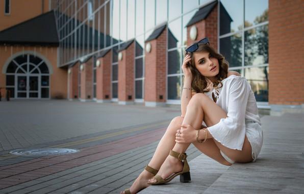 Картинка девушка, секси, модель, красивые ножки, Ananda, Dmitry Medved