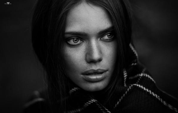 Картинка взгляд, девушка, Катерина, Dmitry Arhar