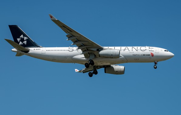 Картинка Airbus, Air China, A330-200