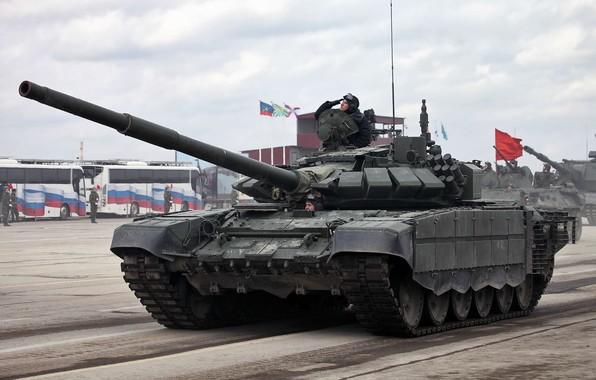 Картинка Т-72, Армия России, Танковые Войска, образца 2016 г., Т-72б3