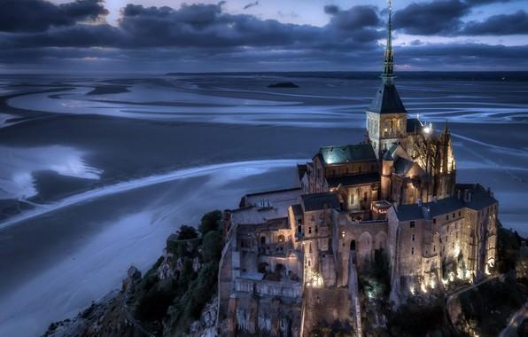 Картинка France, Normandy, Le Mont-Saint-Michel, Avranches