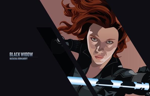 Картинка надпись, Scarlett Johansson, арт, Скарлетт Йоханссон, черный фон, комикс, Black Widow, MARVEL, Natasha Romanoff