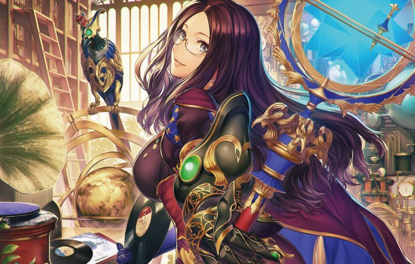 Фото обои девушка, аниме, Fate / Grand Order, Судьба великая кампания