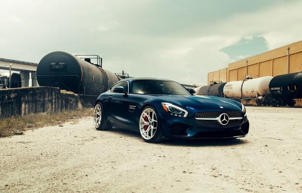Картинка спорткар, цистерны, Mercedes AMG GT S