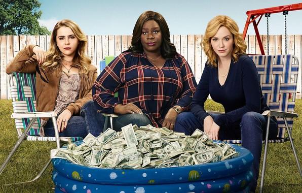 Картинка деньги, сериал, Фильмы, актрисы, Good Girls, Хорошие девчонки