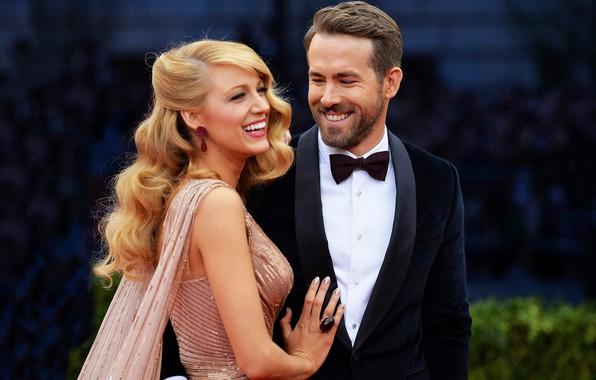 Картинка платье, костюм, Ryan Reynolds, Blake Lively