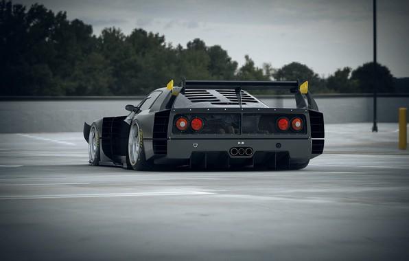 Картинка Авто, Машина, Ferrari, F40, Рендеринг, Concept Art, Ferrari F40, Khyzyl Saleem, by Khyzyl Saleem, F40 ...