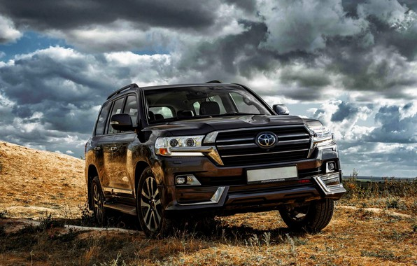 Картинка бездорожье, Toyota, тюнинг авто
