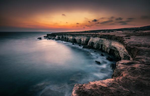 Картинка Sea, Cyprus, caves Ayia Napa
