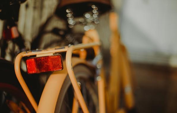 Картинка велосипед, фон, фонарь