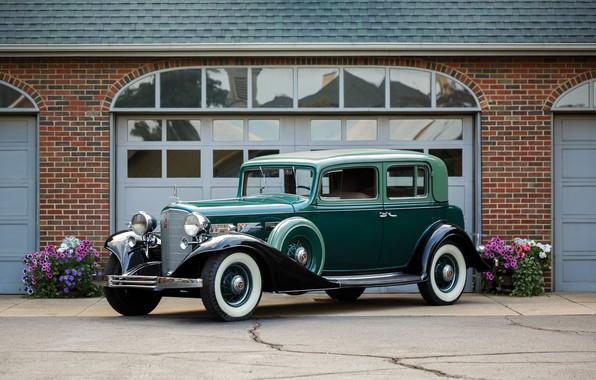 Картинка авто, ретро, Cadillac, V12, 370-C