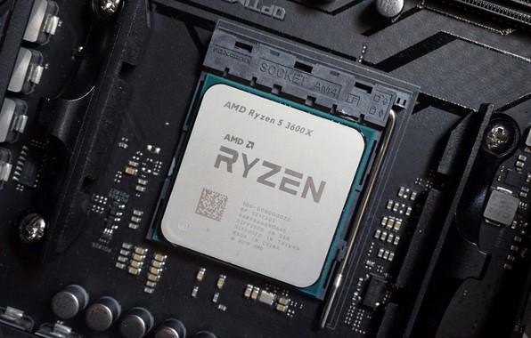 Картинка AMD, процессор, Кукуруза, Рязань, RYZEN, Ряженка, AM4, 3600X, Ryzen 5