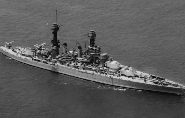 Картинка Линкор, ВМС США, US NAVY, 1928, Colorado class, 406-мм, USS West Virginia (BB-48)