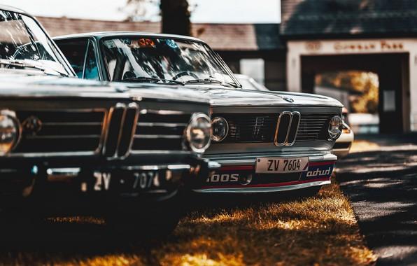 Картинка машины, фон, BMW 2002