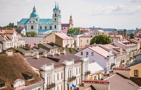 Картинка костел, Беларусь, гродно