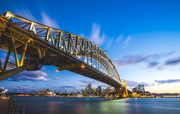 Картинка Мост, Город, Сидней