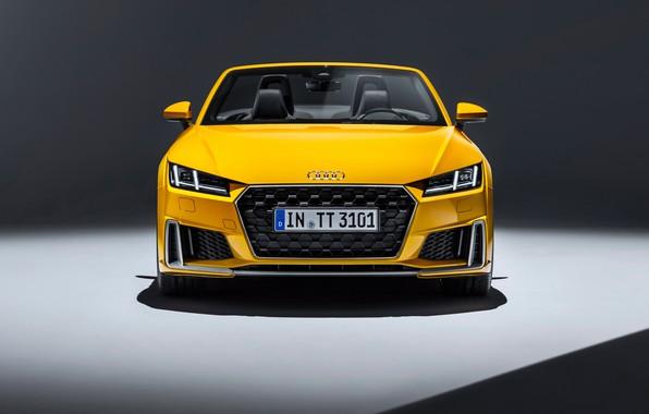 Картинка Audi, Roadster, вид спереди, 2018, Audi TT, TTS