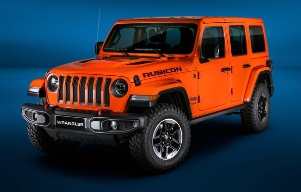 Картинка 2018, Wrangler, Jeep, Unlimited, Rubicon