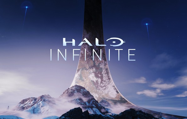 Картинка Halo, logo, Infinite, 343 Industries, E3 2018, Halo: Infinite