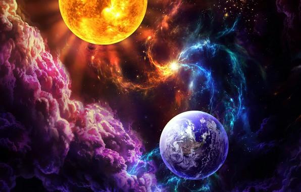 Картинка космос, звезды, галактика