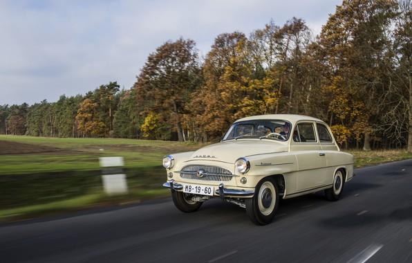 Картинка движение, Škoda, Skoda, Octavia, 1959-1964