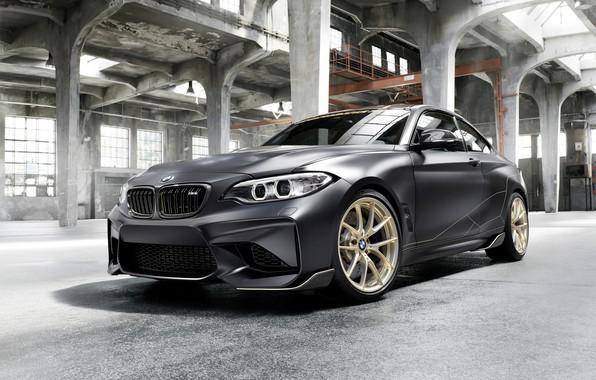 Картинка BMW, помещение, 2018, F87, M2, M2 M Performance Parts Concept