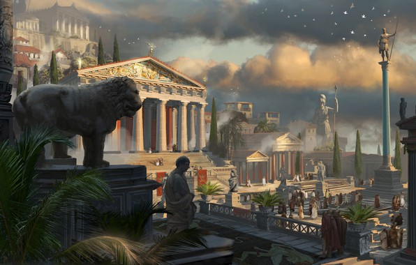 Картинка компьютерная игра, Древняя Греция, Eddie Bennun, Assassin's Creed Odyssey