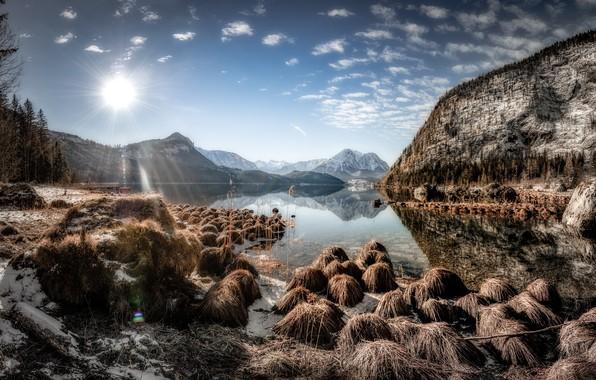 Картинка природа, Austria, Altaussee, Styria
