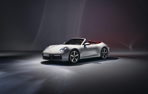 Картинка 911, Porsche, Carrera, Cabriolet, 2019