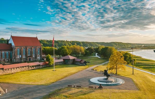 Картинка Lithuania, Kaunas, Santaka