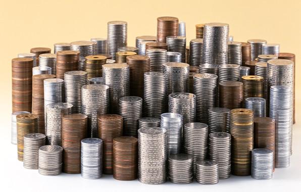 Картинка металл, деньги, монеты