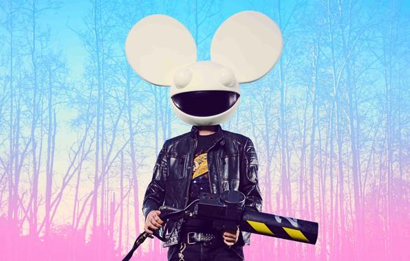 Картинка диджей, Deadmau5, EDM, DJ