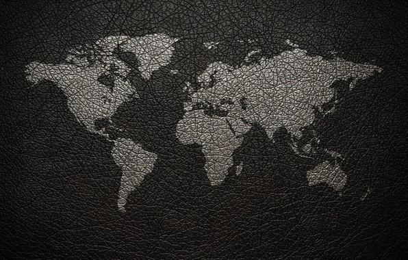 Картинка земля, кожа, карта мира, континент