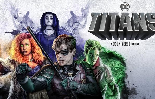 Картинка взгляд, сериал, Фильмы, главные актеры, Титаны, Titans
