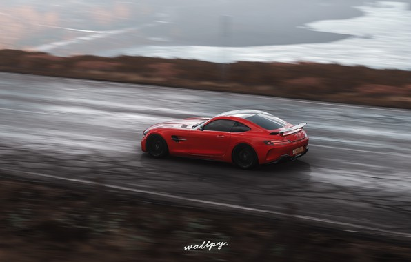Картинка Mercedes-Benz, Microsoft, AMG, GT R, Forza Horizon 4, by Wallpy