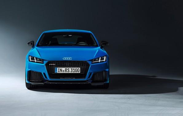 Картинка машина, дизайн, стиль, Audi, фары, купе, TT RS, 2020
