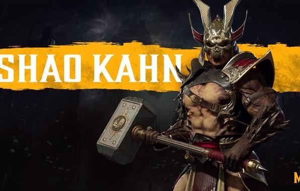Картинка молот, император, hammer, conqueror, Shao Kahn, Шао Кан, NetherRealm Studios, завоеватель, emperor, Mortal Kombat 11, …
