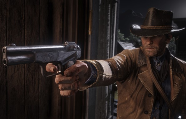 Картинка Game, Rockstar Games, Red Dead Redemption 2, Gang, RDR, Red Dead Redemption 2 PC