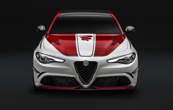 Картинка Alfa Romeo, Quadrifoglio, Giulia, 2019, Alfa Romeo Racing