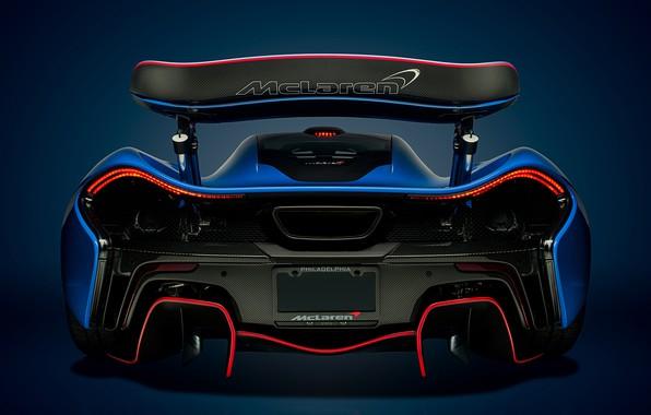 Картинка McLaren, Blue, Гиперкар