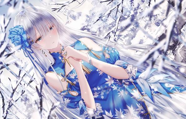 Картинка девушка, аниме, Fate / Grand Order, Судьба Ночь схватки
