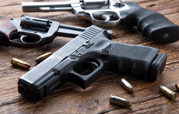 Картинка pistols, ammunition, firearms, revolvers
