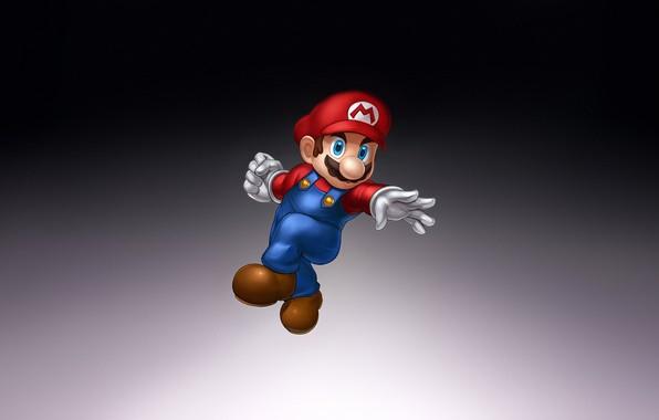 Картинка Fantasy, Art, Mario, Style, Background, Illustration, Minimalism, Character, Game Art, Nick Savino, Smash Brothers
